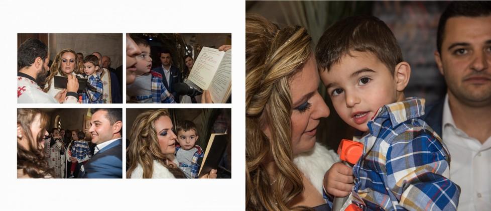 Mixalis Olga & George Chalkiadakis Baptism Christening Photographer Greece