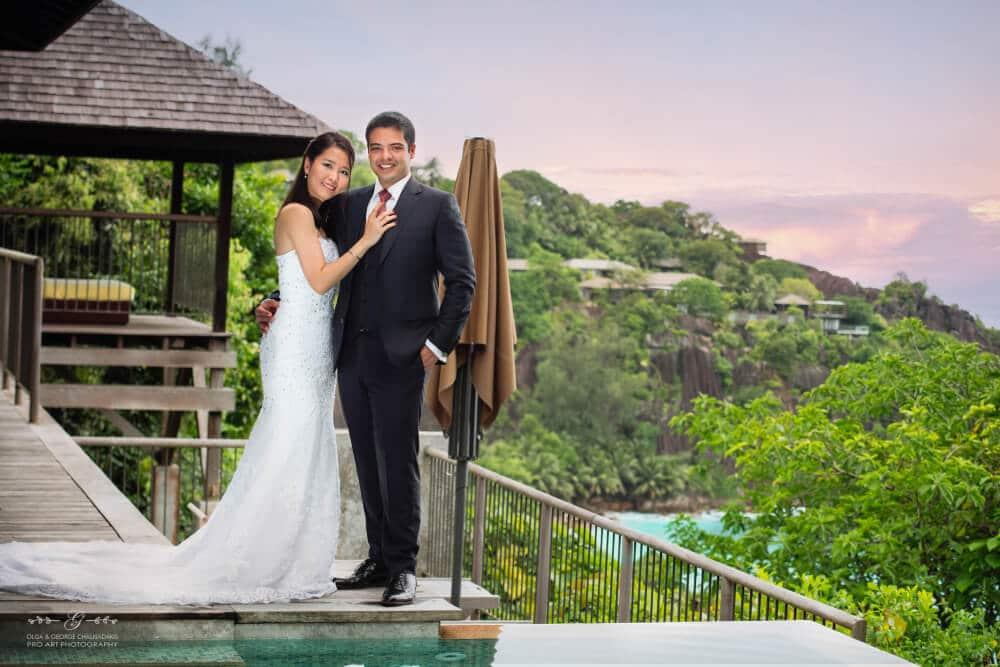 Olga & George Chalkiadakis Wedding photography Destination Seychelles