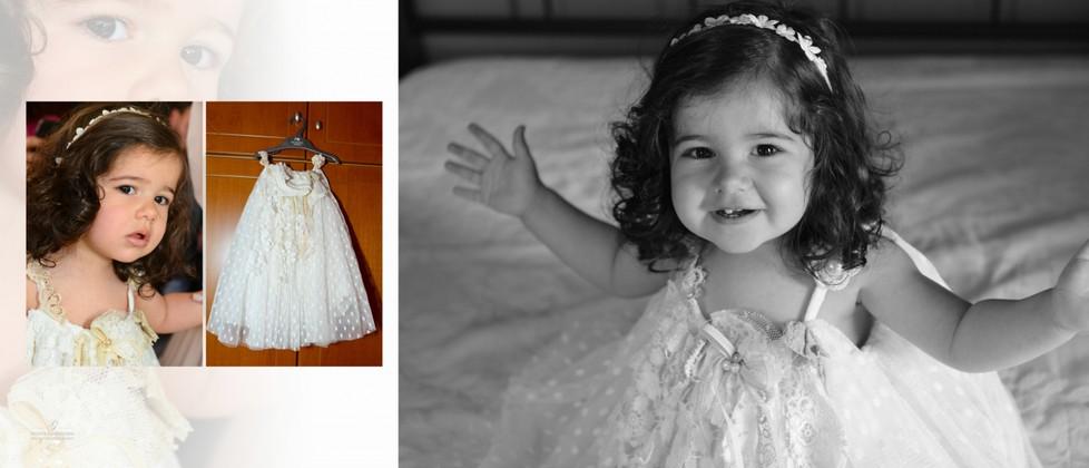 Ioanna Olga & George Chalkiadakis Baptism Christening Photographer Greece