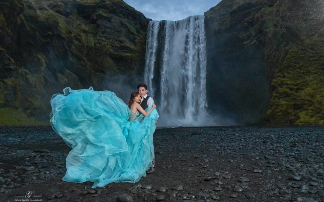 Iceland Pre Wedding Photography, Leia & Alex
