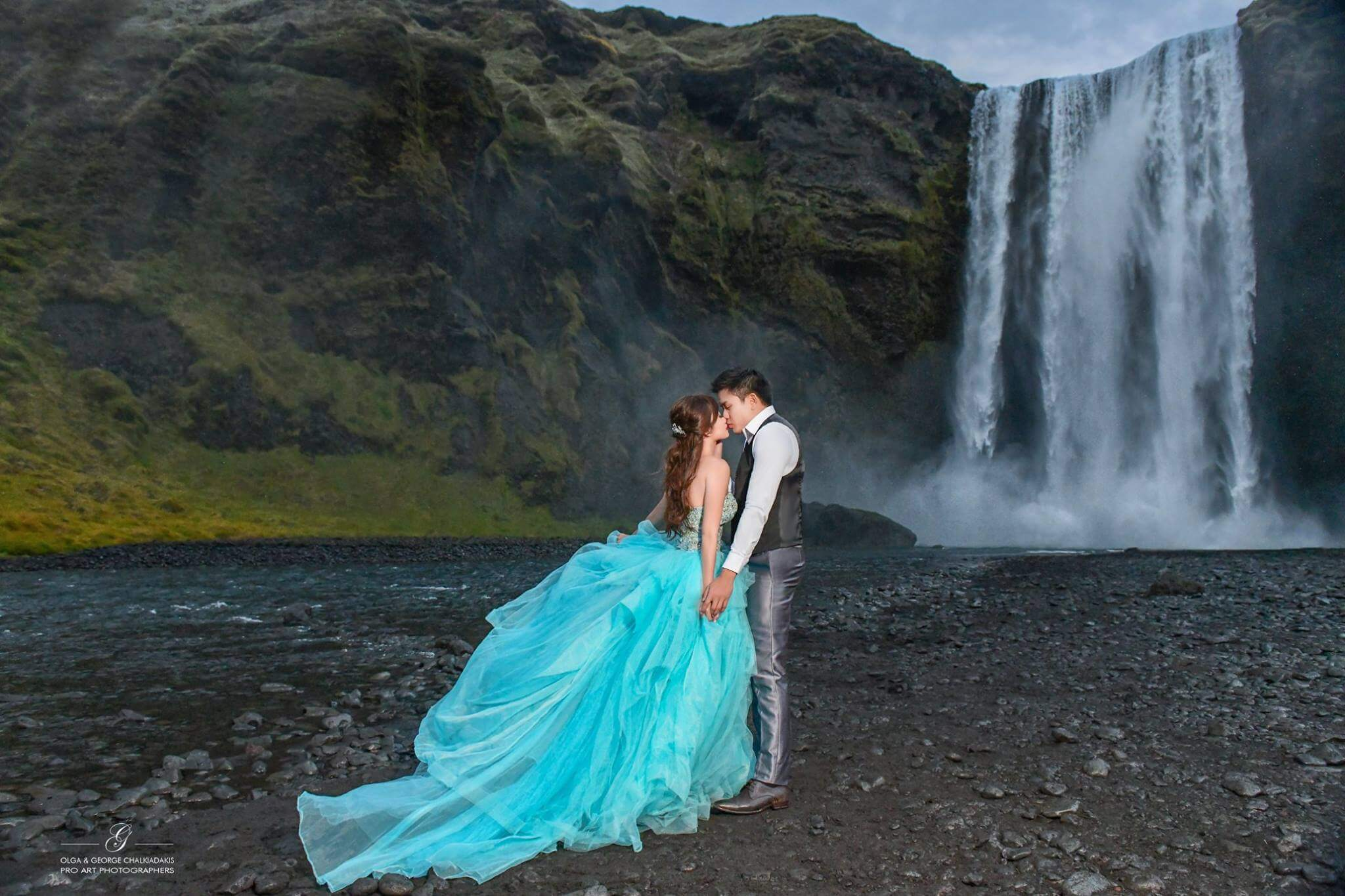 Olga & George Chalkiadakis Wedding photography Destination Iceland