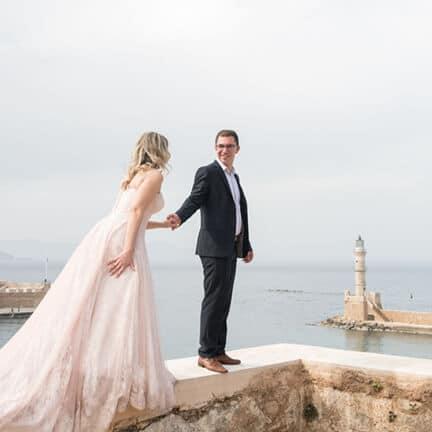 Olga & George Chalkiadakis Wedding photography Destination Crete Greece