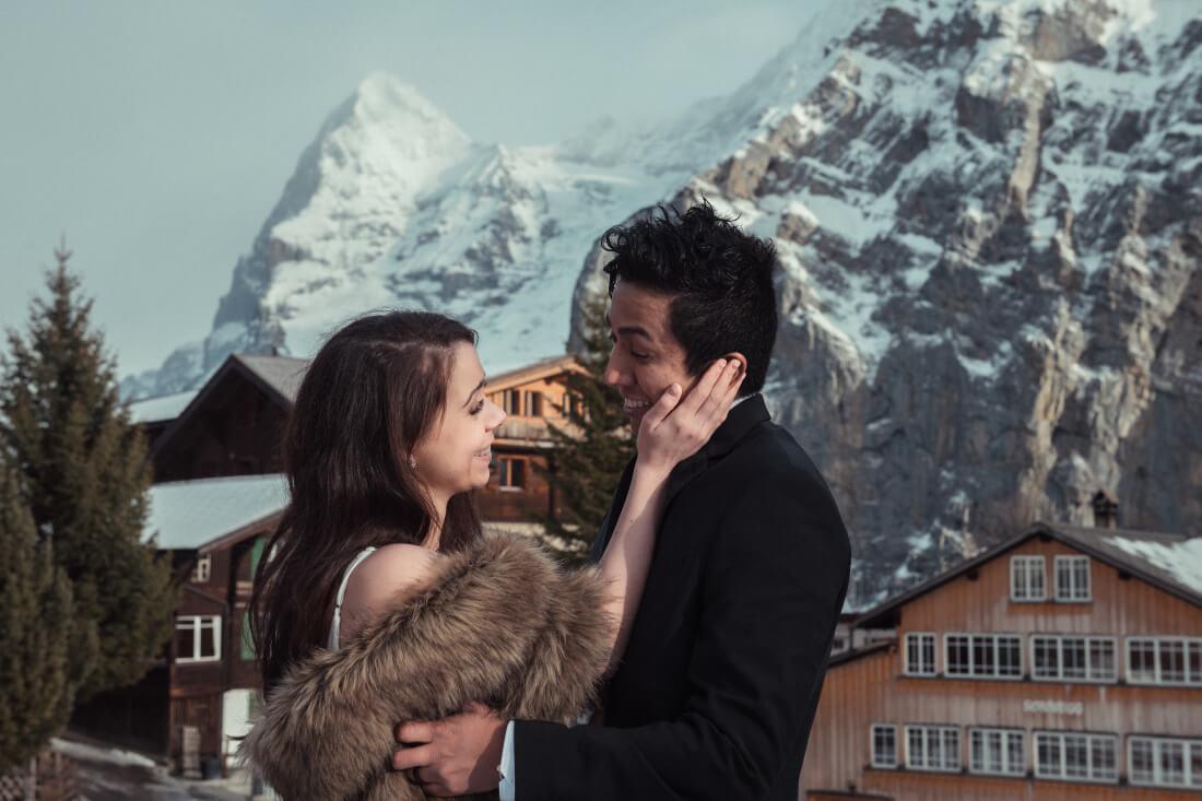Mario & Amber Olga & George Chalkiadakis Wedding photography Destination Swiss Alps