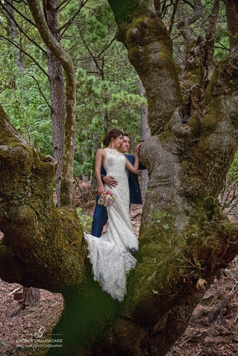 Olga & George Chalkiadakis Wedding photography Destination Crete Gre
