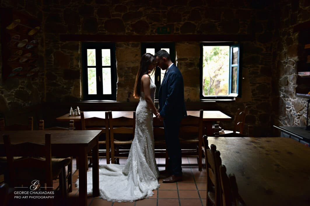 Olga & George Chalkiadakis Wedding photography Destination Crete Greece Irini