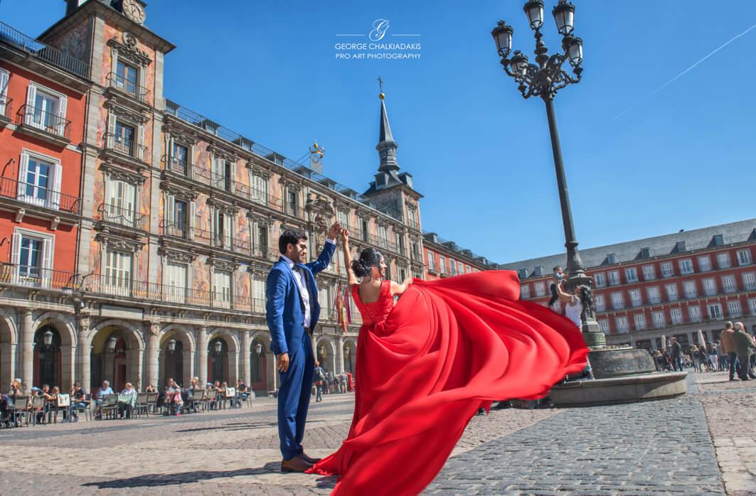 Swati & Piyush: Madrid, Spain
