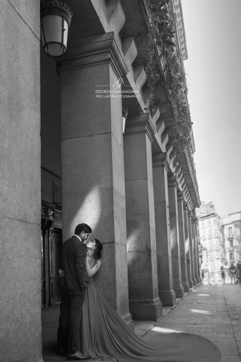 Madrid, Spain Olga & George Chalkiadakis Wedding photography Destination