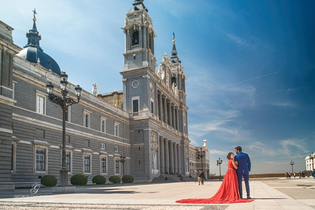 Madrid, Spain Olga & George Chalkiadakis Wedding photography Destination