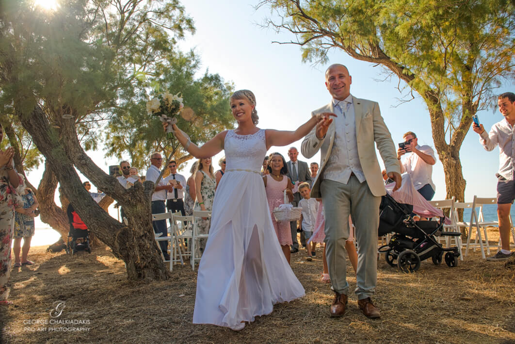 Mariane Stig Olga & George Chalkiadakis Wedding photography Destination Crete Greece
