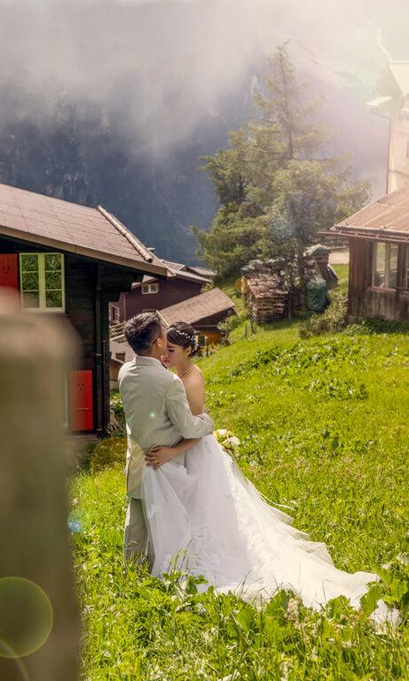 Olga & George Chalkiadakis Wedding photography Destination Switzerland