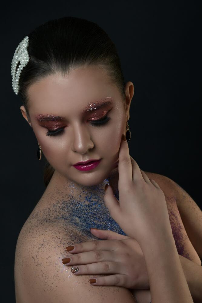 Makeup Studio Xmas Concept session Olga & George Chalkiadakis Crete