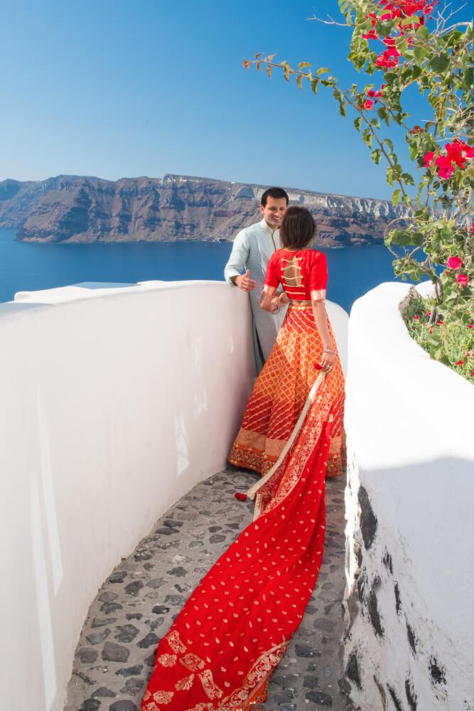 Olga & George Chalkiadakis Wedding photography Destination Santorini