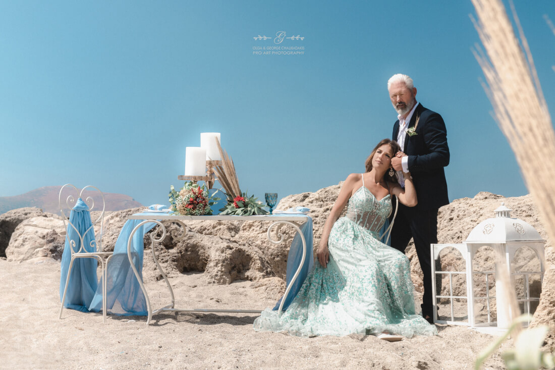Engagement Styled Photoshoot at Falassarna Donnaly Willemsen