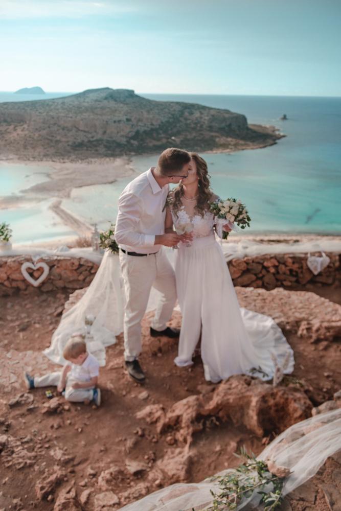 Balos Lagoon wedding